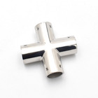 New design 4 four way pipe fitting cross tee accessories for boats in China with great price