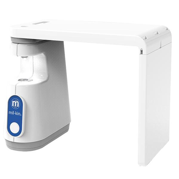 mil-kin Standard, Unique LED light source flat surface biology dental microscope camera