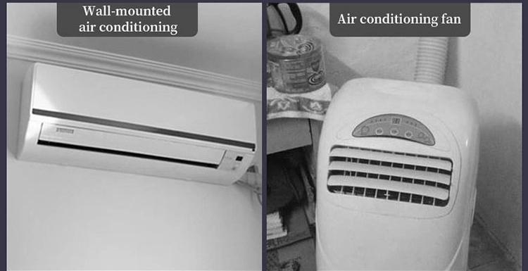 Di vendita caldo mini portatile condizionatore d'aria tenda in campeggio split usb con l'alta qualità
