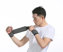 Wholesale Breathable Comfortable Elastic Weightlifting  Wrist Support Band
