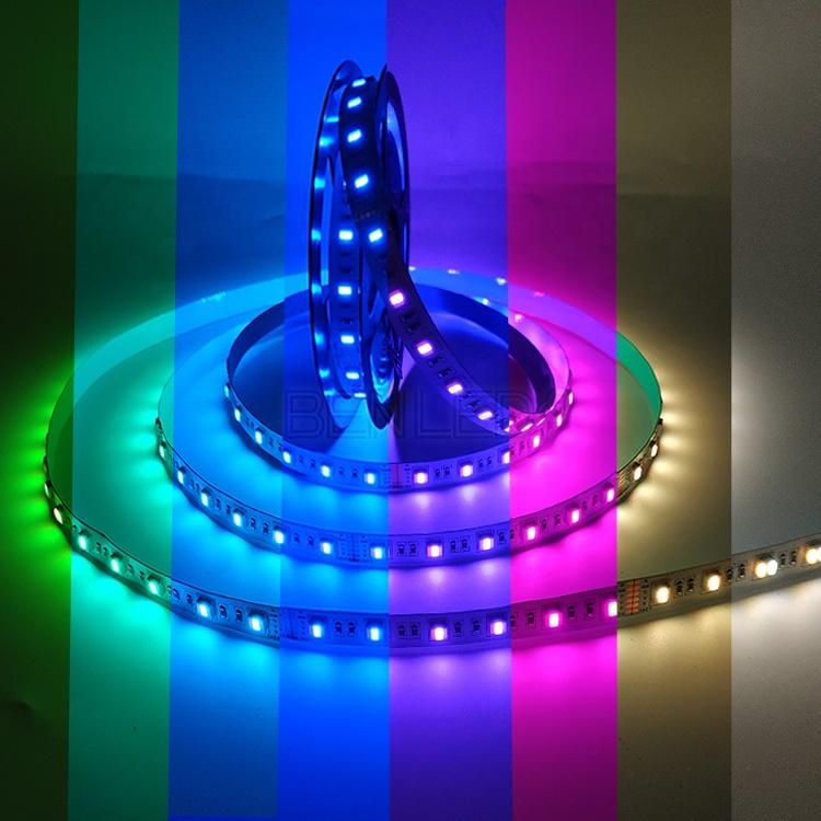 Factory Wholesale RGBWW 24V IP65/67/68 5 In 1 LED Strip