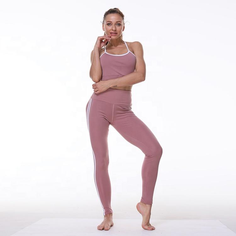 2e86c0bc8604 Venta al por mayor ropa para gym mujer spandex-Compre online los ...