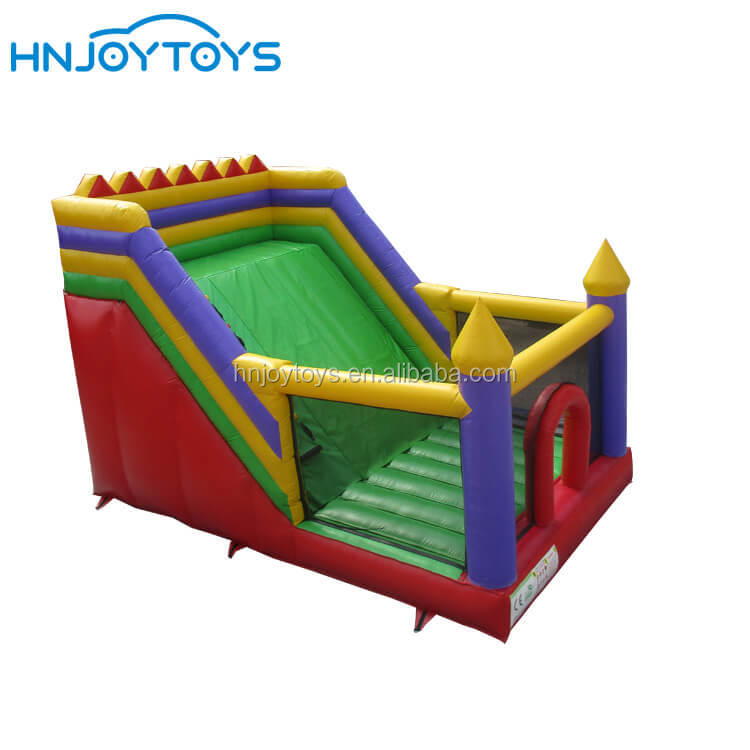 Outdoor New Design Backyard 6x4m Customized Popular Inflatable Slide For Kids