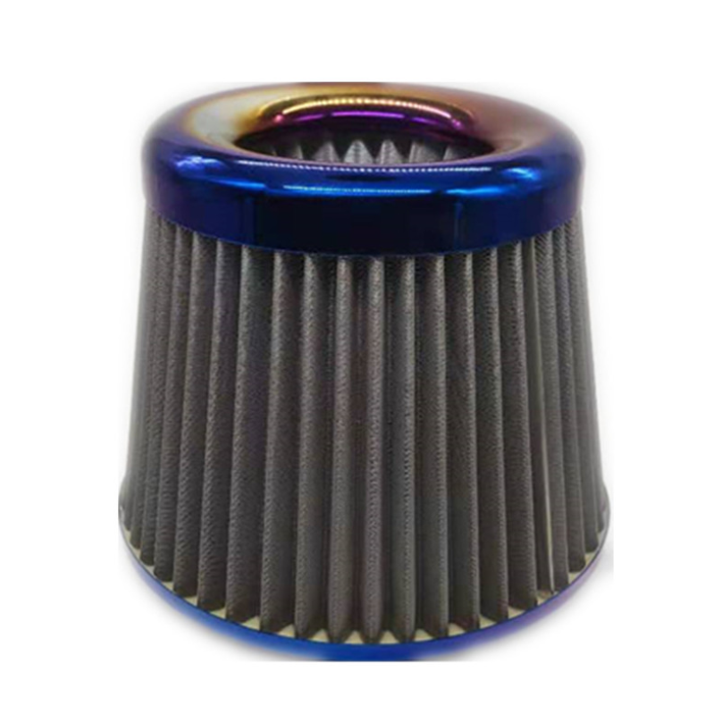 "2.5 Inches 63 mm Cold Air Intake Cone Replacement Filter 2.5"" NEW BLUE 76mm"