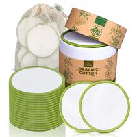 Facial And Skin Care Wash Bamboo Reusable Soft Makeup Remover Pad