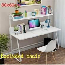 Ноутбук Tisch Tavolo Biurko Mueble Para, Офисная кровать, поднос Escritorio Lap, подставка для ноутбука, прикроватный стол, компьютерный учебный стол(Китай)