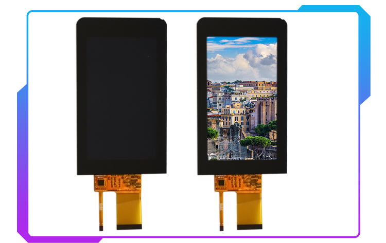 5.0inch capacitive touch panel with I2C interface