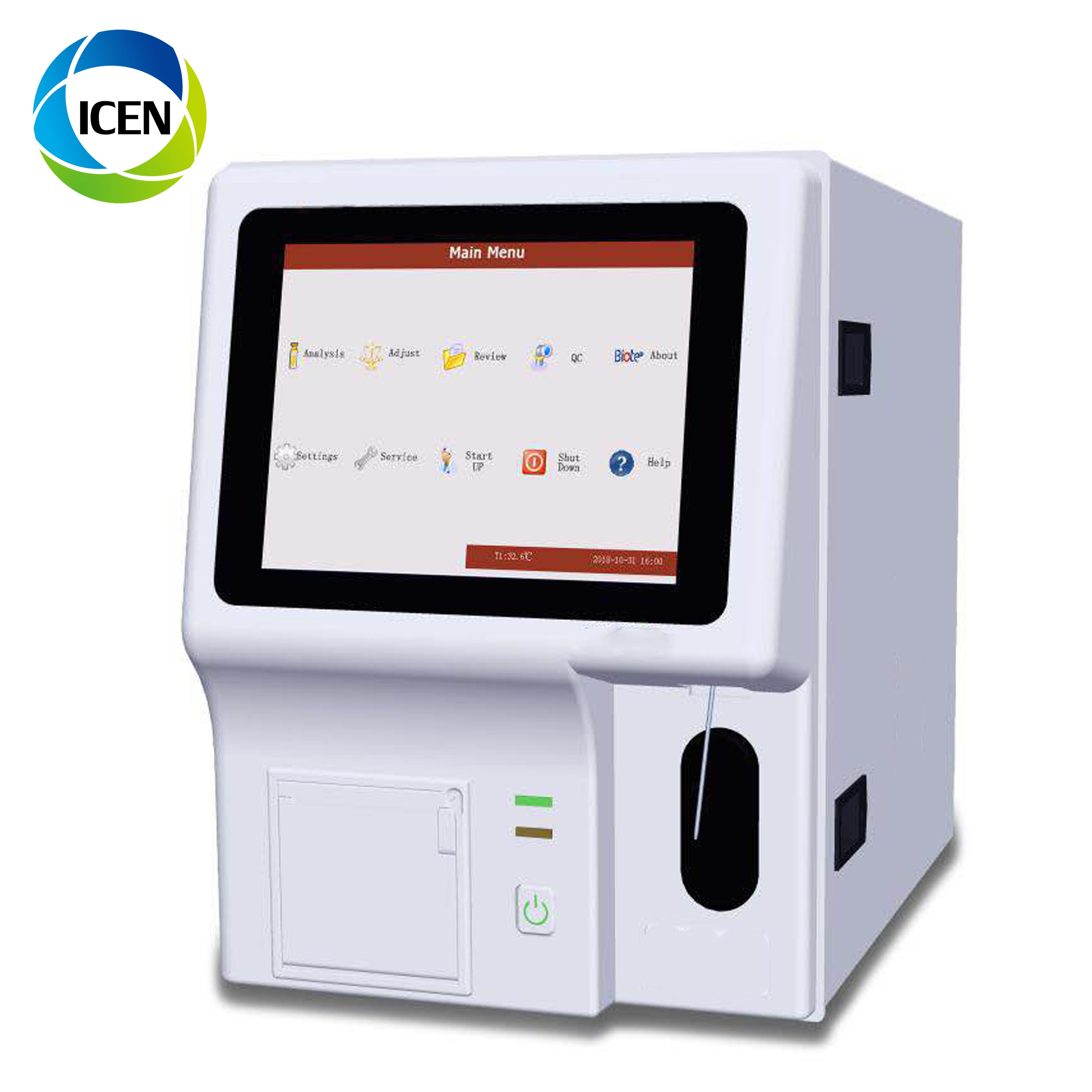 IN-B141-4 lab Medical Clinical Auto Intelligent Hematology Analyzer