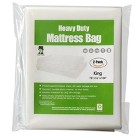 Heavy Duty Plastic Mattress Bag and Mattress Cover for Moving and Storage