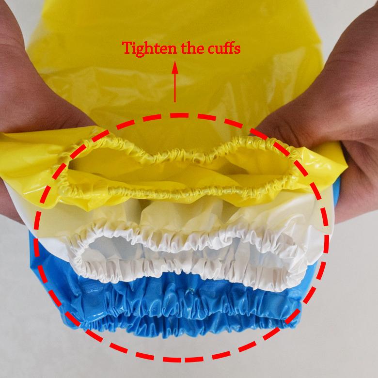 Waterproof Anti-Fouling Anti-Oil TPU/PVC Plastic Oversleeve/Sleeve Cover