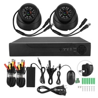 2CH 1080N 5-in-1 AHD DVR Kit with 1080P AHD Waterproof IR Camera