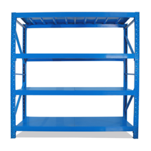 Multi Tier Boltless Shelving ชั้นวาง Commercial โลหะ Shelving
