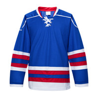New Design 100% Polyester Sublimated Ice Hockey Jersey Custom Team Sport Wear Cheap ice Hockey Jersey