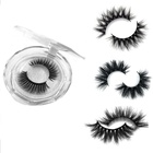 Wholesale Price 100 Real Fur 3D Mink Eyelashes,Custom Eyelash Package With Private Label Box Your Own Logo