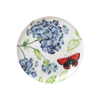 Melamine Dinnerware Thailand Floral Pattern Eco-Friendly Easy Washing Deep Floral China Dinner Plates