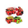 1:36 mini metal car toys pull back die cast friction climbing truck car