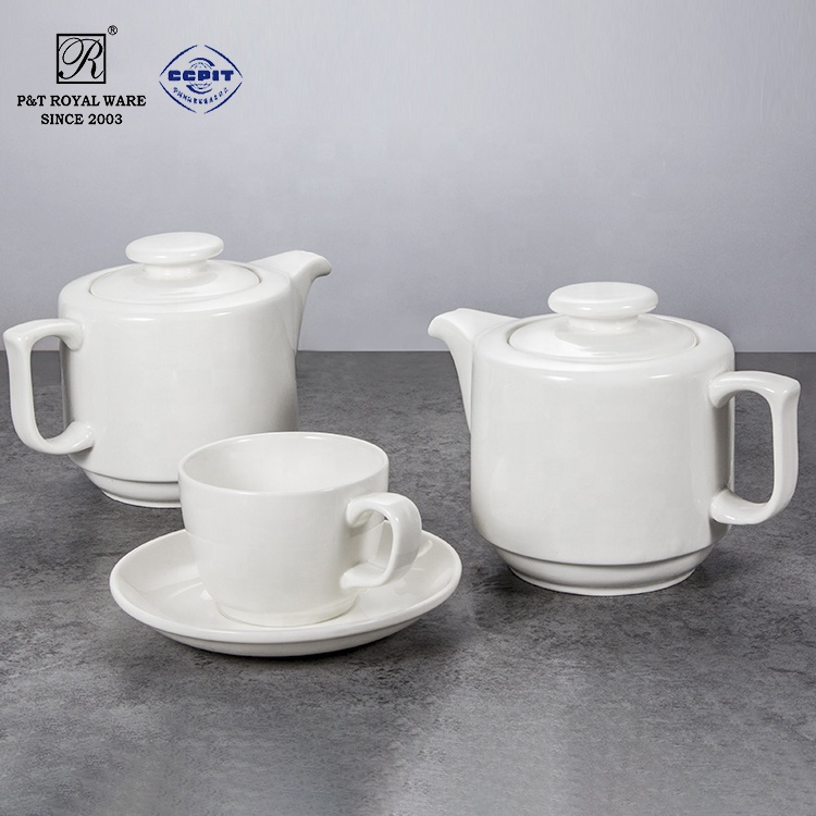 factory plain catering ceramic tea pot