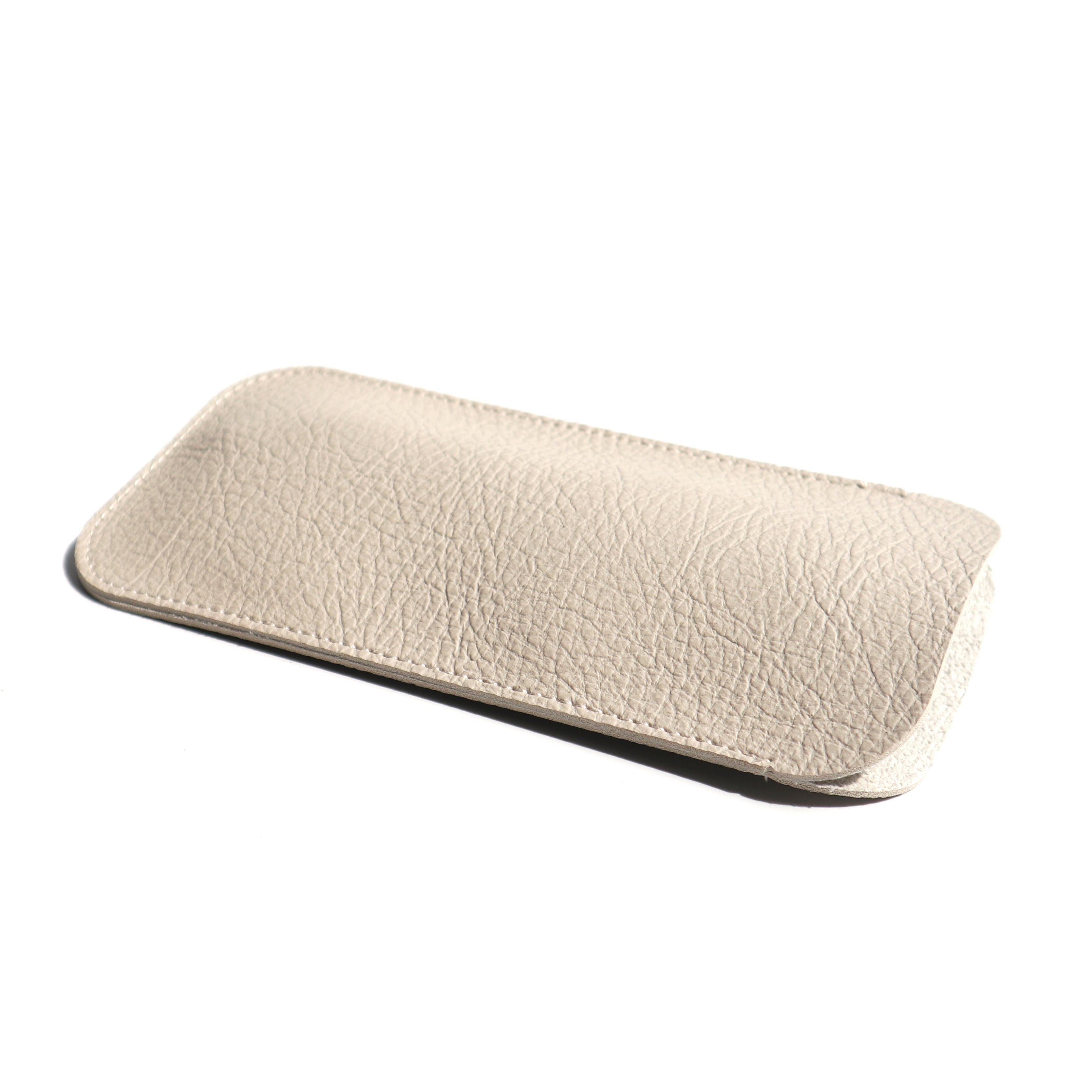 Glasses Pouch Leather Thick PU Sunglasses Case Pouch Wholesale Custom Leather Pouch for Sunglasses Packing Leather Package