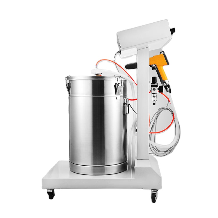 High effect spraying gun paint electrostatic powder coating machine