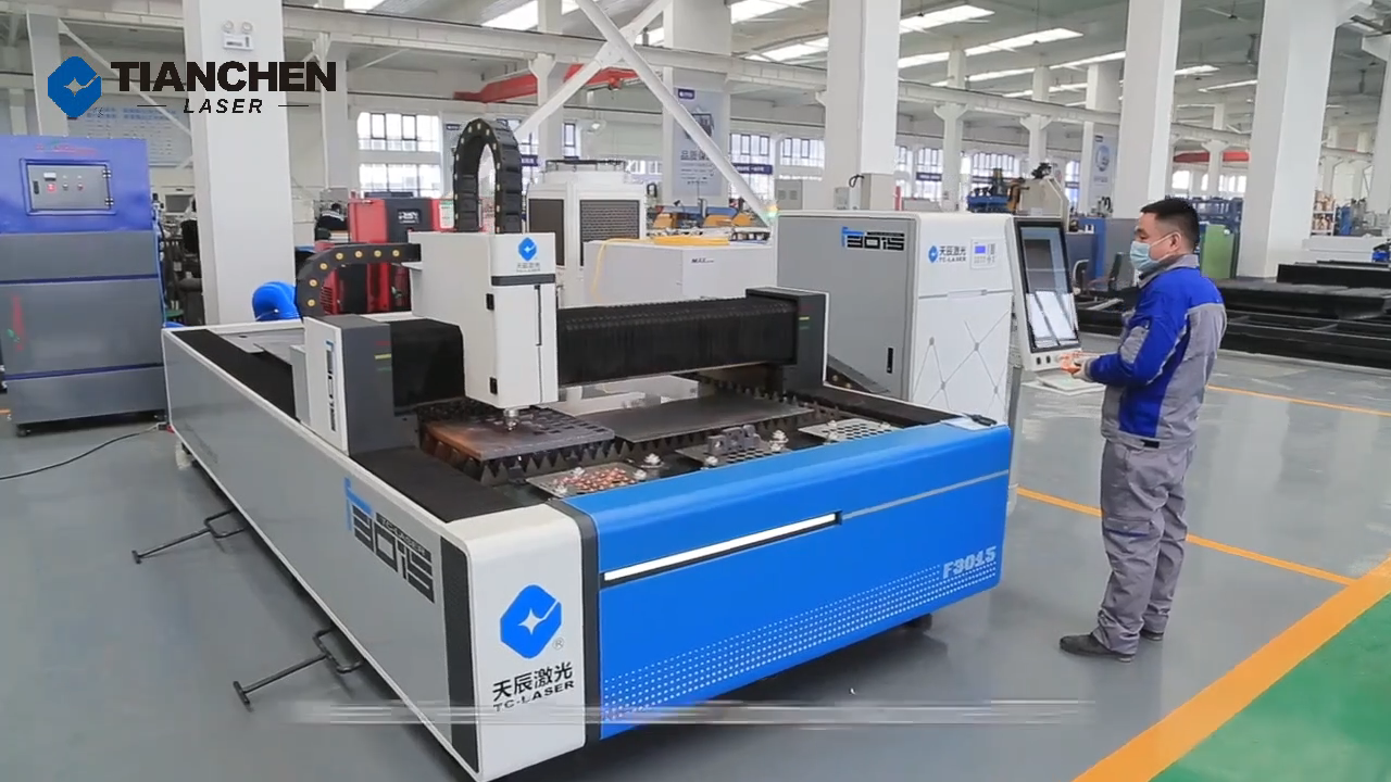 Industrial Laser 1530 Metal Plate exchange table Fiber Laser Cutting machine with  exchange work table