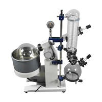 Industrial medical falling / rising film forced circulation vacuum rotary evaporators for 10l to 50l