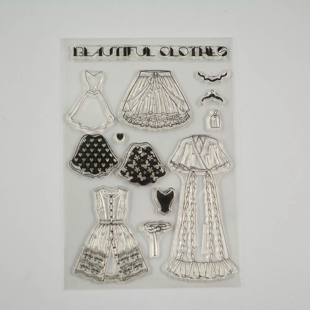 Снежинка и венок дешевый прозрачный штамп для скрапбукинга/изготовления открыток/детские рождественские украшения(Китай)