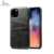 Smartphone Protective Case With Leather Card Holder Slot For Iphone  11 11 pro Back Case