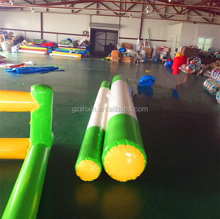 Outdoor Interactive Inflatable Team Building Games Obstacle Course Wipeout Equipment Team Sports Games Set For Kids Adult