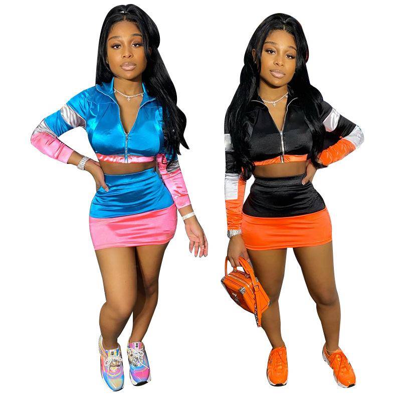 Fashion Wholesale 2 Piece Set Women Plus Size Skirt Outfit Women Sets Two Piece