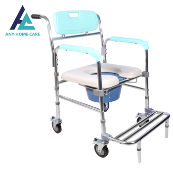 Durable disabled commode stool potty bath toilet chair