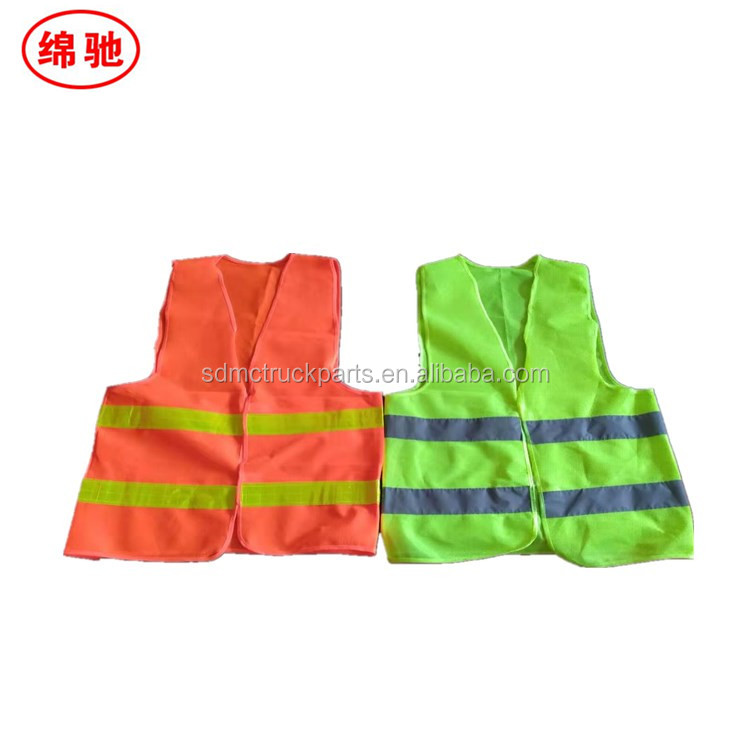 100% Polyester suit safety equipments High Visibility Safety Security Guard Reflective Construction security guard vest