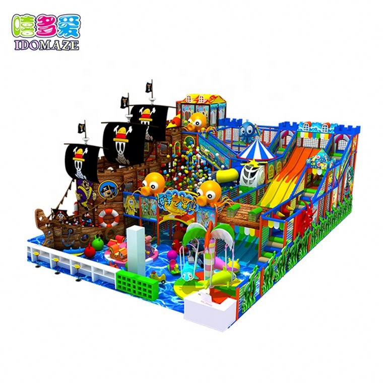 Best Seller Ce Forest Themed Indoor Playground