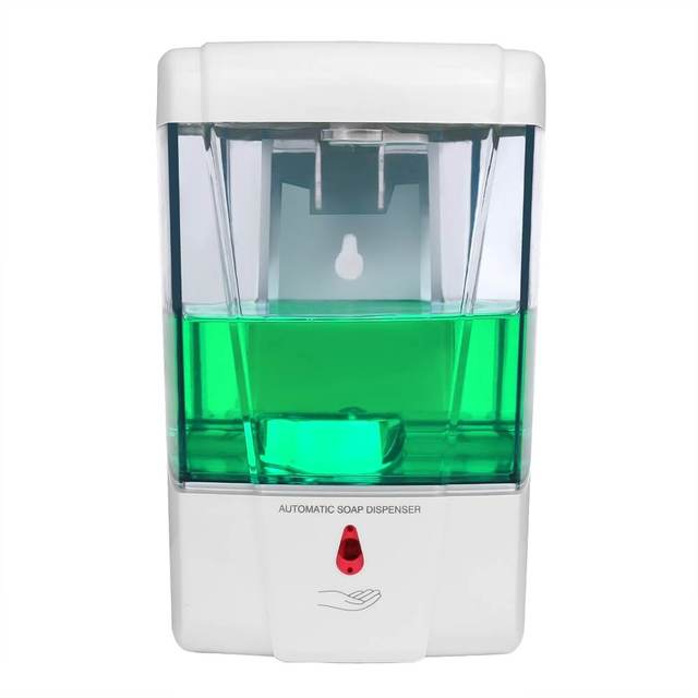 Wall Mounted Touchless Hands Free Automatic Liquid Soap Dispenser