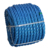 Blue color 1/2 inch plastic Twist polypropylene packing rope  pp fibrillated packing rope