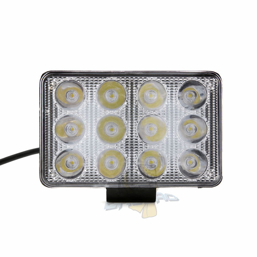 BB380 Auto Lighting System Spotlight Flotlight 12LED 36W 5Inch LED  Work Light for Car