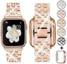 Ремешок для часов Apple Watch 5 4 полоса 42 мм 38 мм нержавеющая сталь iwatch 5 4 ремешок для часов браслет аксессуары для часов 44 мм 40 мм(Китай)