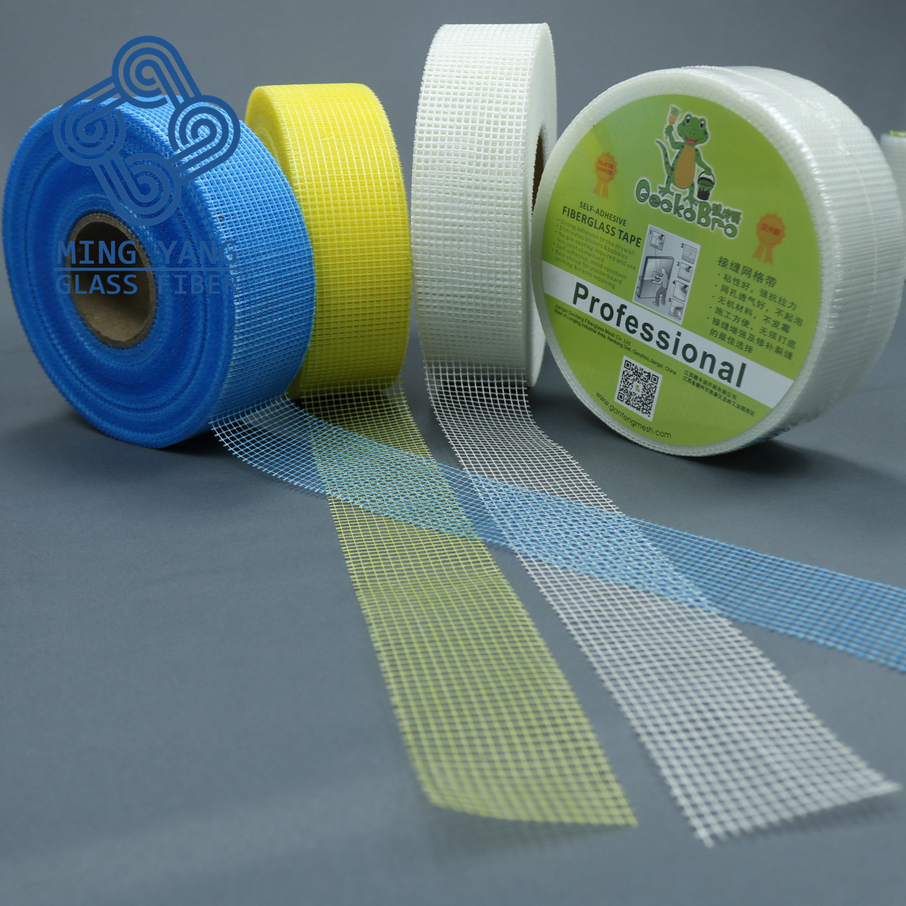 """NEW FIBER MESH TAPE 3/"""" WIDE 150FT LONG ROLL PATCHING TAPE"""