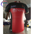 Inflatable jersey for football club decoration,advertising inflatable