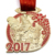 Wholesale Custom Metal Old Wrestling Sport Award Medal With Ribbon