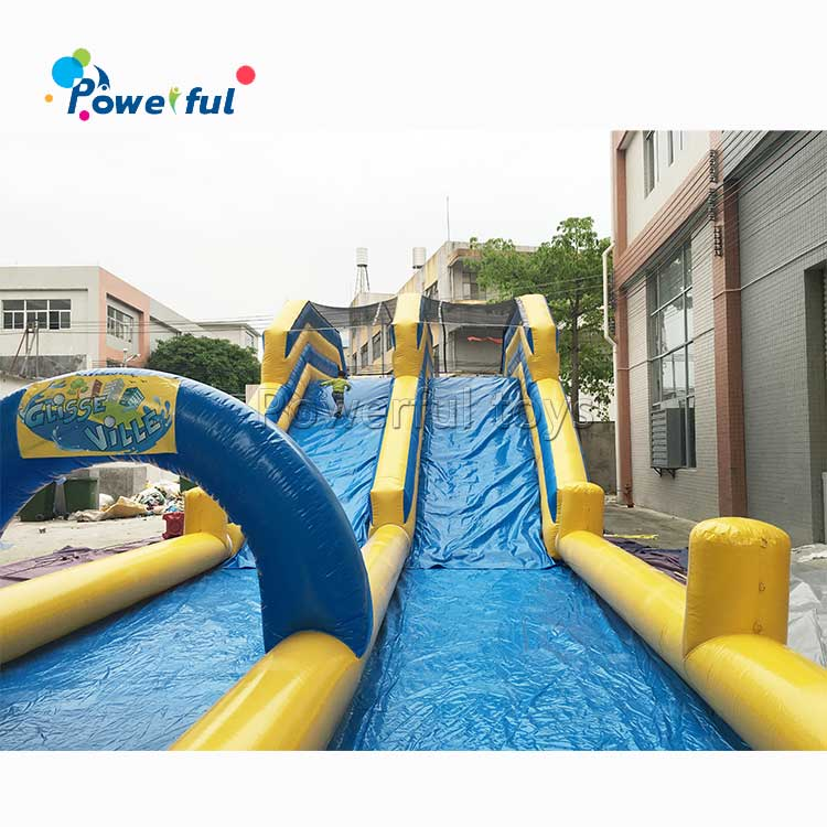inflatable water slide long slip n slide,inflatable city slide