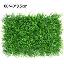 Искусственный газон имитация растения озеленение Цветочная стена зеленый пластик газон Дверь Магазин изображение фон трава Флорес(Китай)