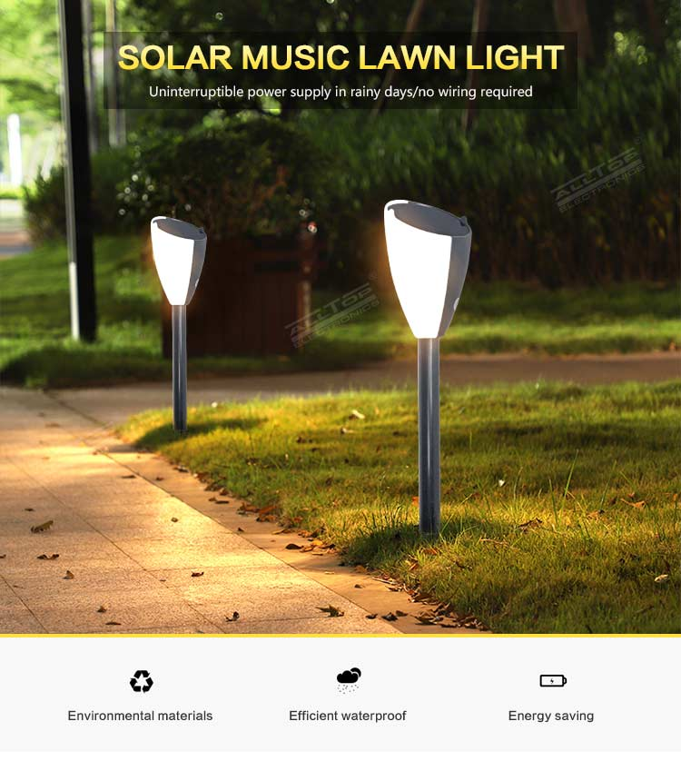 ALLTOP solar garden post lights-5