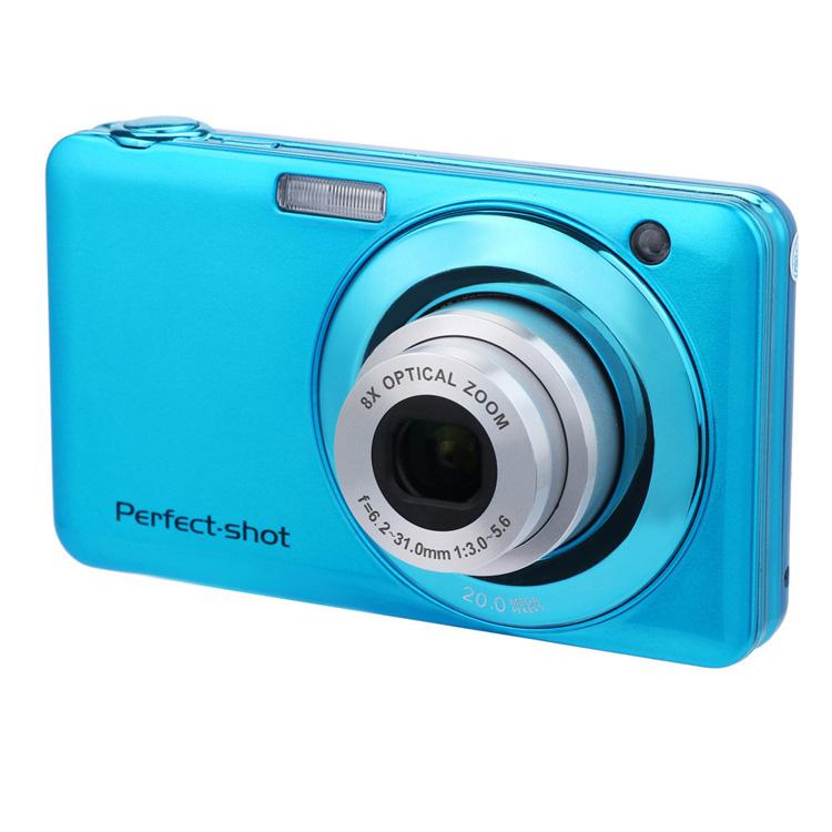 Portabel 2.7 Inci HD Zoom Optik Warna Kamera Video 20MP Isi Ulang Kamera Kertas Foto