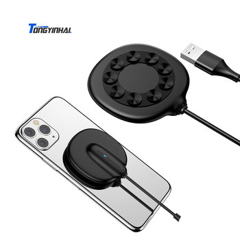 Tongyinhai Hot sale portable 7.5W 10W 15W 3 in 1 for samsung for apple fast charging wireless charger