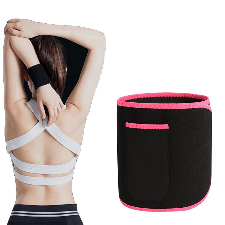 Hampool Custom Thigh Double Compression Strap Slimming Body Shaper Corset Private Label Women Waist Trainer