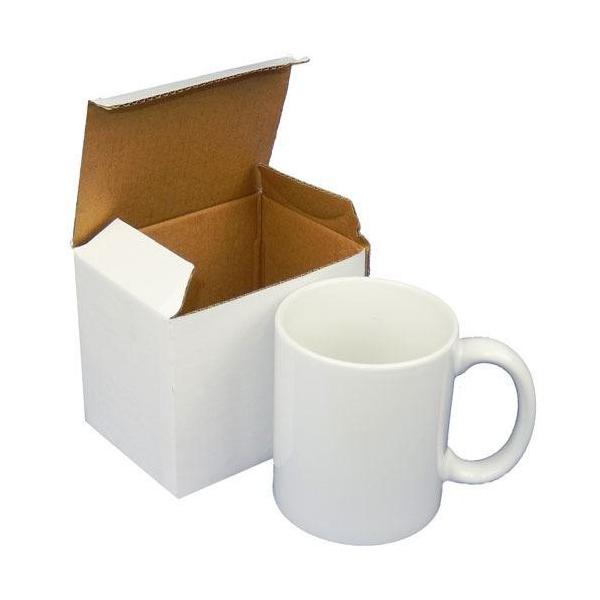 Low MOQ 11 oz plain white ceramic custom coffee mugs coffee cup with logo
