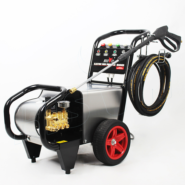 Bison(China)Three Phase 3.4GPM Medium Duty Pump High Pressure Street Cleaner