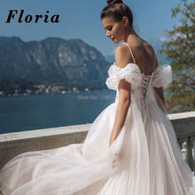 Великолепные кружевные свадебные платья с бусинами на Среднем Востоке 2020, свадебные платья принцессы на бретельках, халаты, платье невесты ...(China)