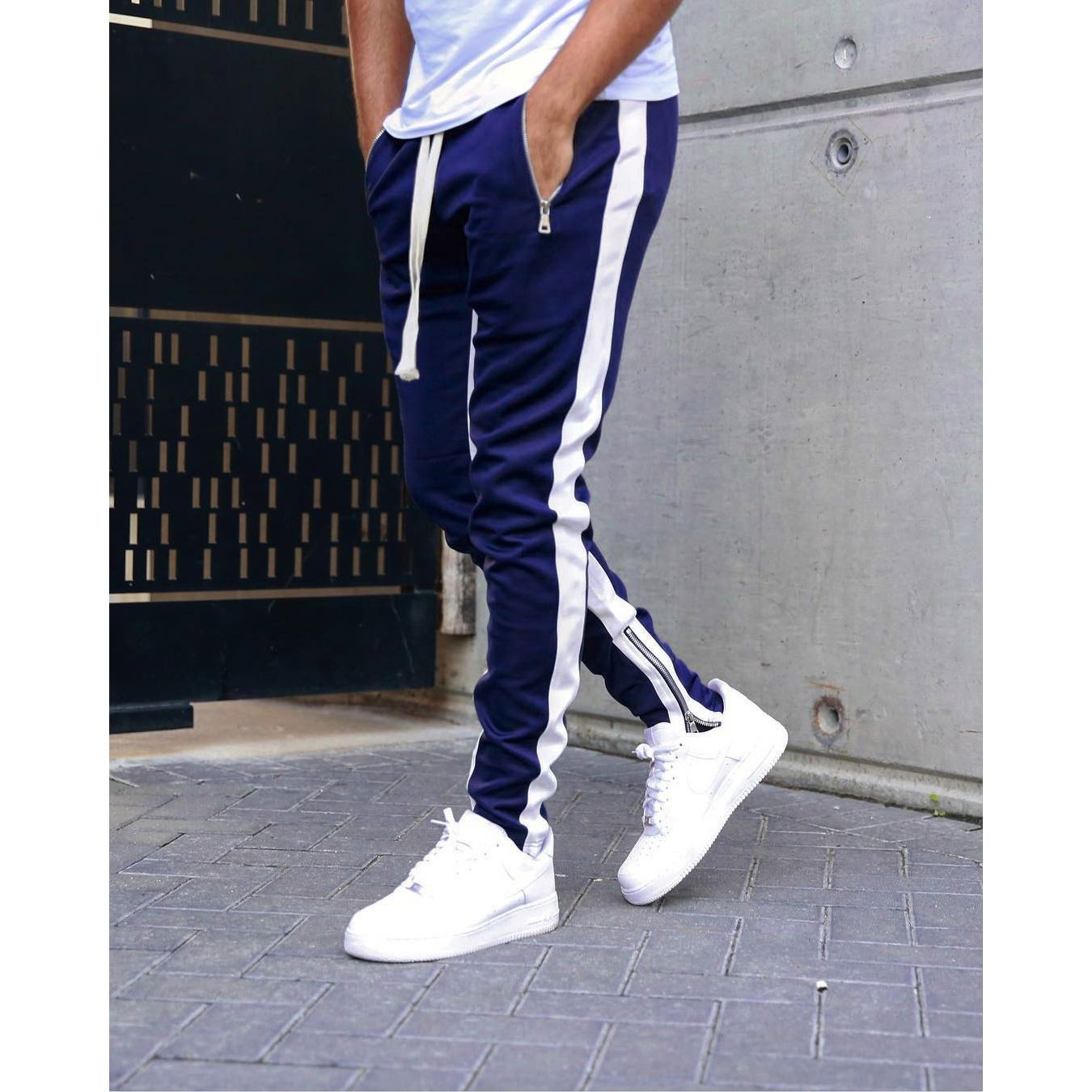 Pantalones Jogger De Moda Para Hombre Pantalones De Sudor De Fear Of God Para Hombre Buy Fear Of God Pantalones De Correr De Moda Pantalones Deportivos Con Rayas Laterales Product On Alibaba Com