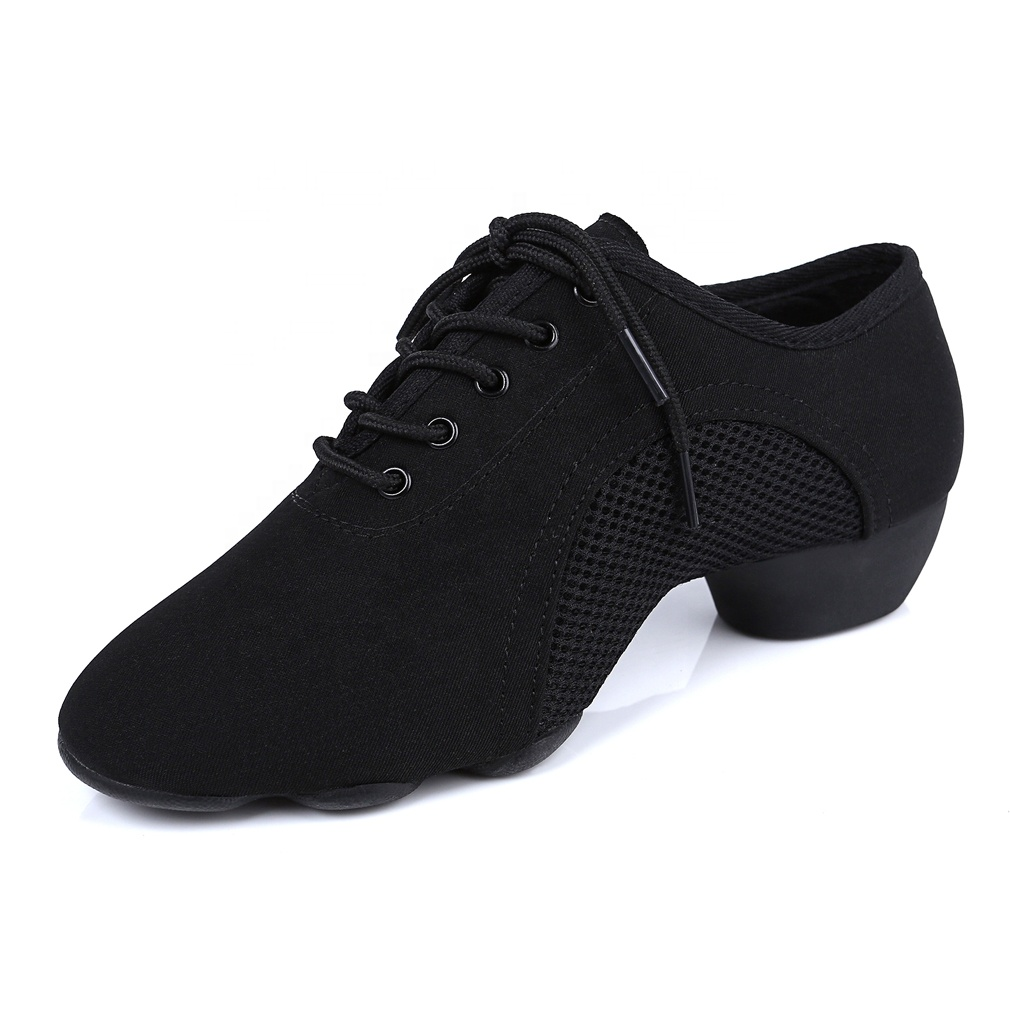 3.5cm  oxford cloth  teacher latin dance shoes
